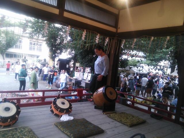 富賀岡八幡宮 夏祭りイベント