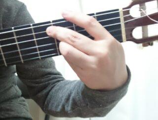 左手奏法 ポルメディオ
