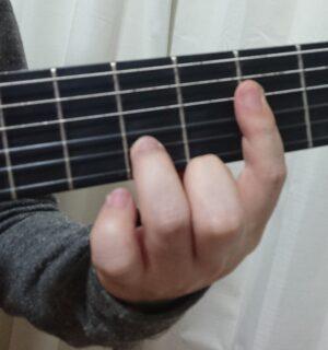1~4弦の半セーハ