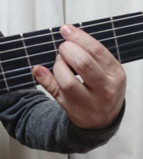 小指でミニセーハした状態 G7(♭9♭13)
