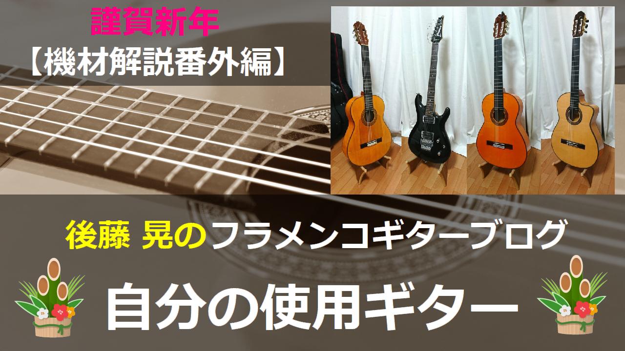 自分の使用ギター 機材解説番外編
