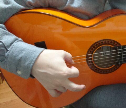 指を使ったアバニコ奏法1