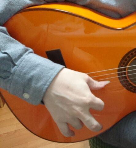 指を使ったアバニコ奏法2