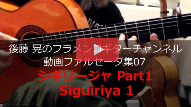 シギリージャPart1 動画