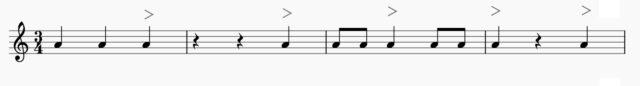ソレアのベーシックなパルマの例