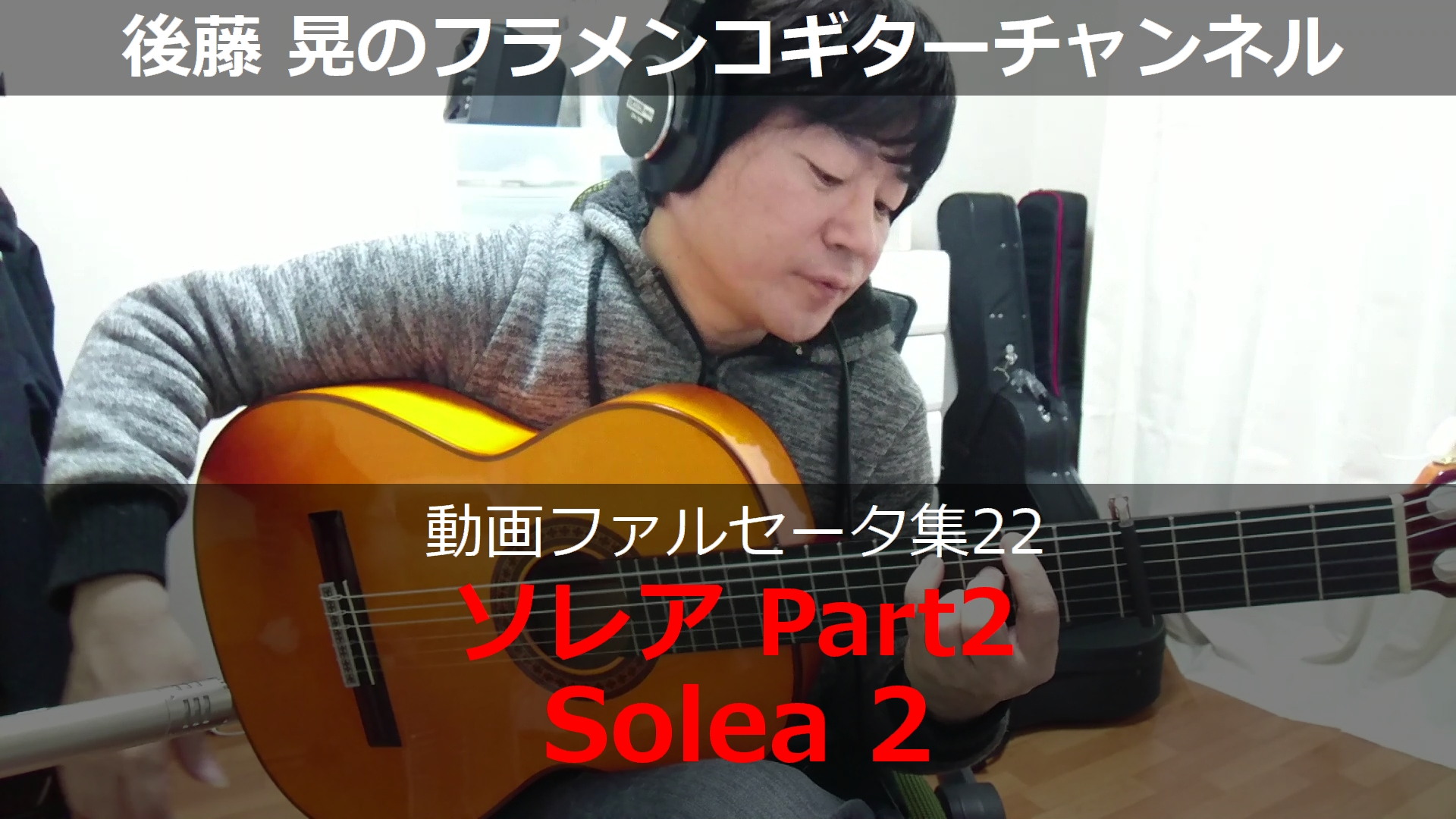 ソレアPart2 ギター演奏