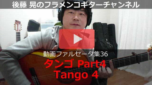 タンゴPart4 動画
