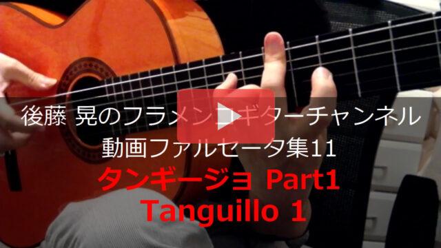 タンギージョPart1 ギター演奏