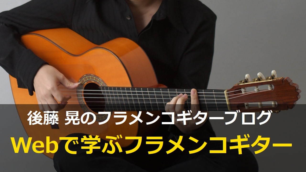 Webで学ぶフラメンコギター